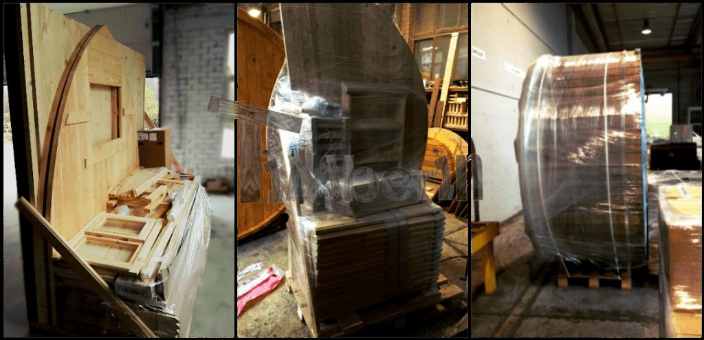 Verpackte Sauna Bausatz Basic Holzbadezuber Und Badetonne