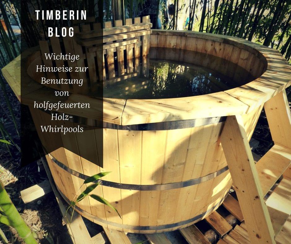 Wichtige Hinweise Zur Benutzung Von Holfgefeuerten Holz Whirlpools 2