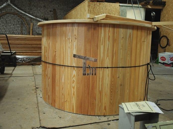 Badezuber Holzdekoration Timberin 3