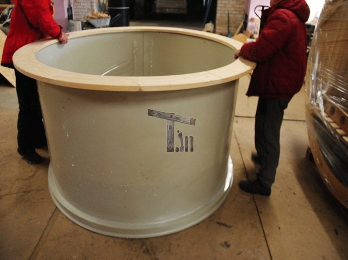 Kunststoff Badezuber Innenrahmen TimberIN 2
