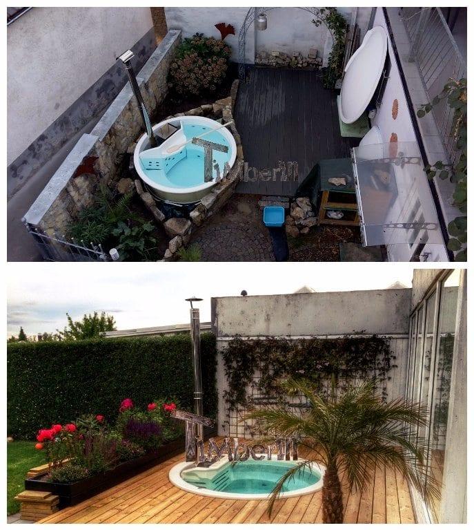 Hot Tub Terrassenmodell Installationsbeispiele TimberIN 1
