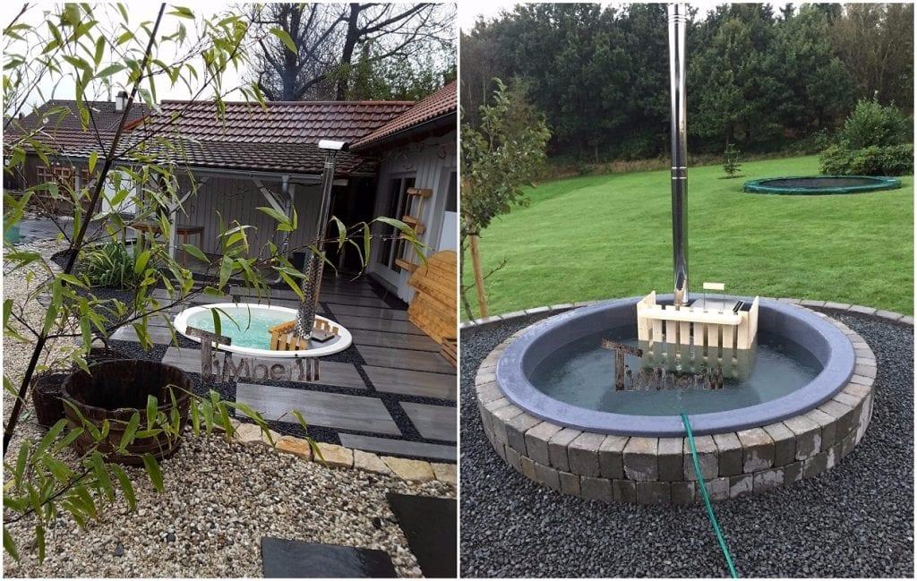 Hot Tub Terrassenmodell Installationsbeispiele TimberIN 2