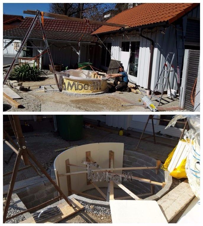 Hot Tub Terrassenmodell Installationsbeispiele TimberIN 4
