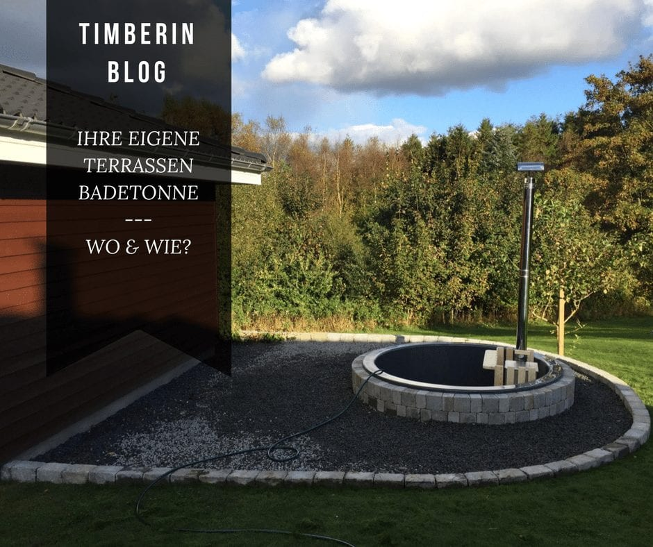 Hot Tub Terrassenmodell Installationsbeispiele