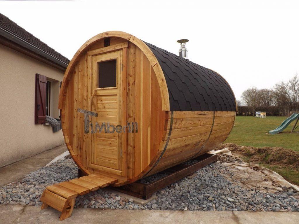 Gepflegte Sauna (2)
