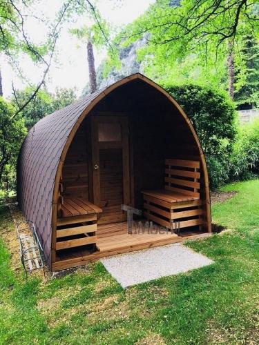 Sauna All'aperto Per Giardino Igloo, Villa Angelica, San Giacomo, Italia (2)