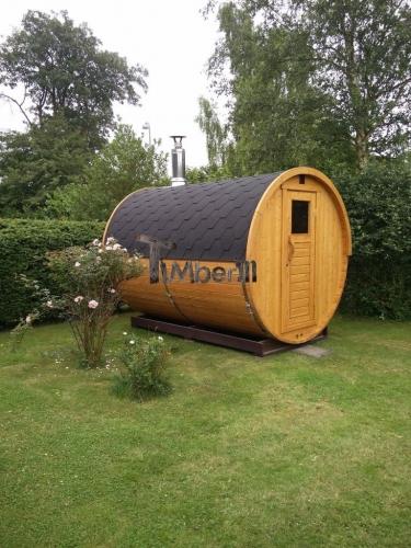 Udendørs Sauna I Træ Til Haven, Martin Høgsholt, Præstø, Danmark (3)