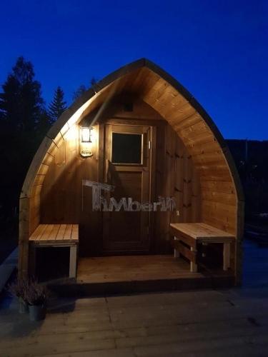 Utendørs Trebastu For Hage Igloo Design, Philip And Cathleen, Sørreisa, Norge