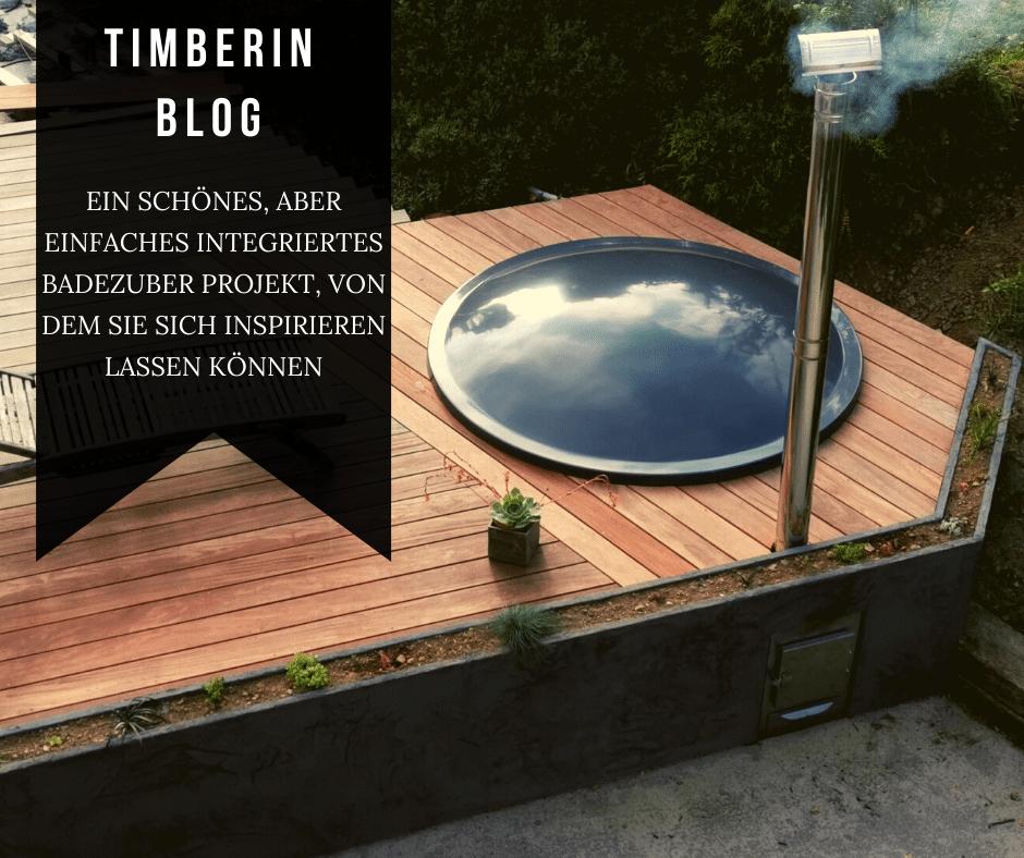 Ein Schönes, Aber Einfaches Integriertes Badezuber Projekt, Von Dem Sie Sich Inspirieren Lassen Können
