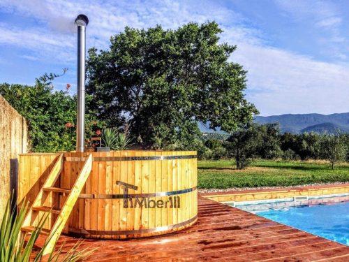 Holzbadetonne Günstig Basic Modell (1)