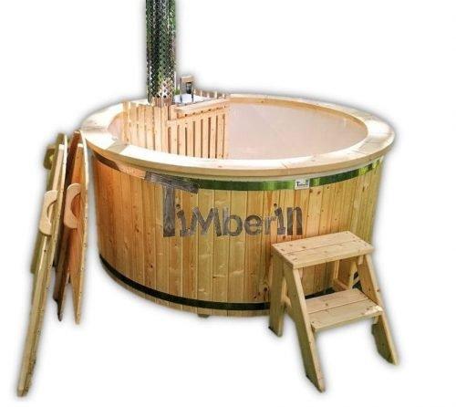 Holz Whirlpool für draußen Holzheizung Outdoor