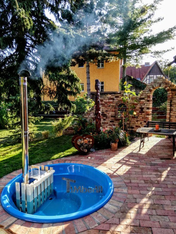 Badezuber-mit-Fiberglaseinsatz-mit-Elektroofen7-9-700x933 Badezuber - Badefass - Badetonne - Badebottich - Hot Tubes für Ihren Garten!