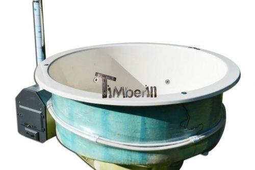 Badefass Einbau Terasse Modell