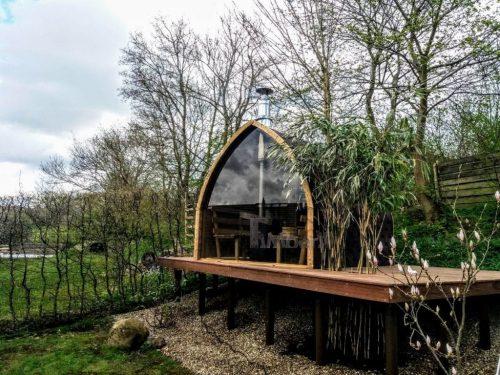 Außensauna Für Garten Iglu Design (1)