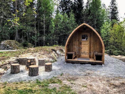 Außensauna Für Garten Iglu Design (2)