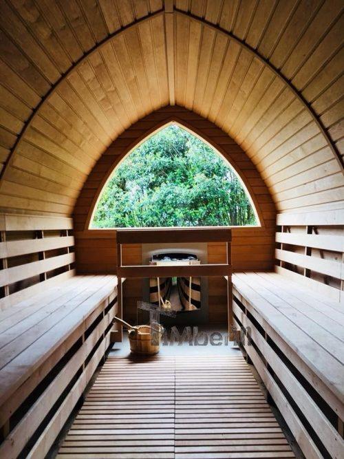 Außensauna Für Garten Iglu Design (3)