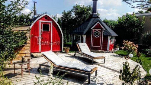 Außensauna Für Garten Iglu Design (4)