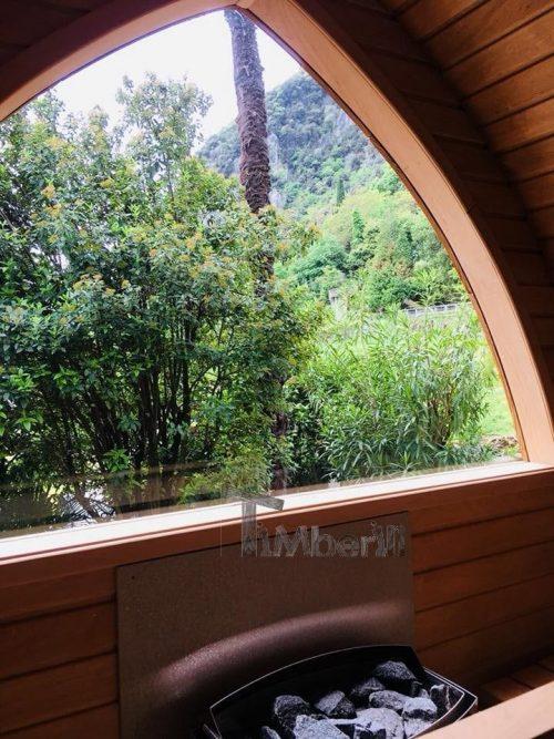 Außensauna Für Garten Iglu Design (5)