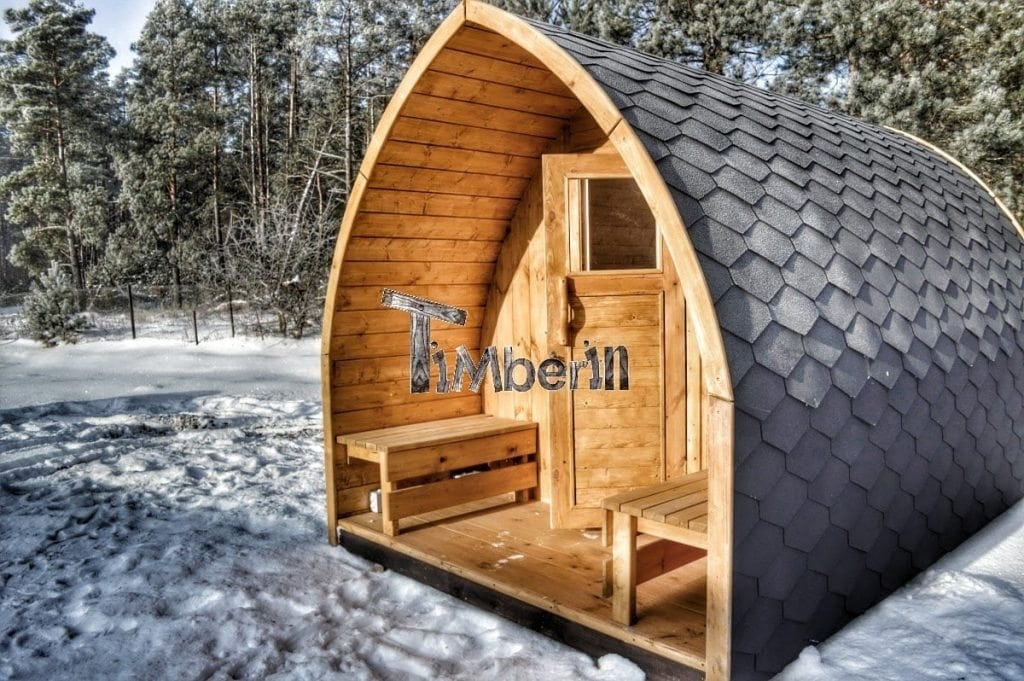 au ensauna mit vorraum und holz elektroofen igloo mit. Black Bedroom Furniture Sets. Home Design Ideas