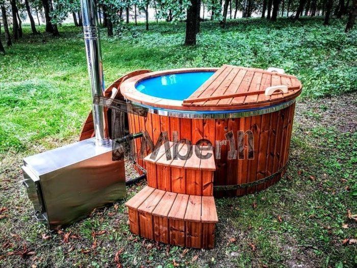 Badetonne-Badezuber-Badebottich-Badefass-mit-Aussenofen-700x525 Badezuber - Badefass - Badetonne - Badebottich - Hot Tubes für Ihren Garten!