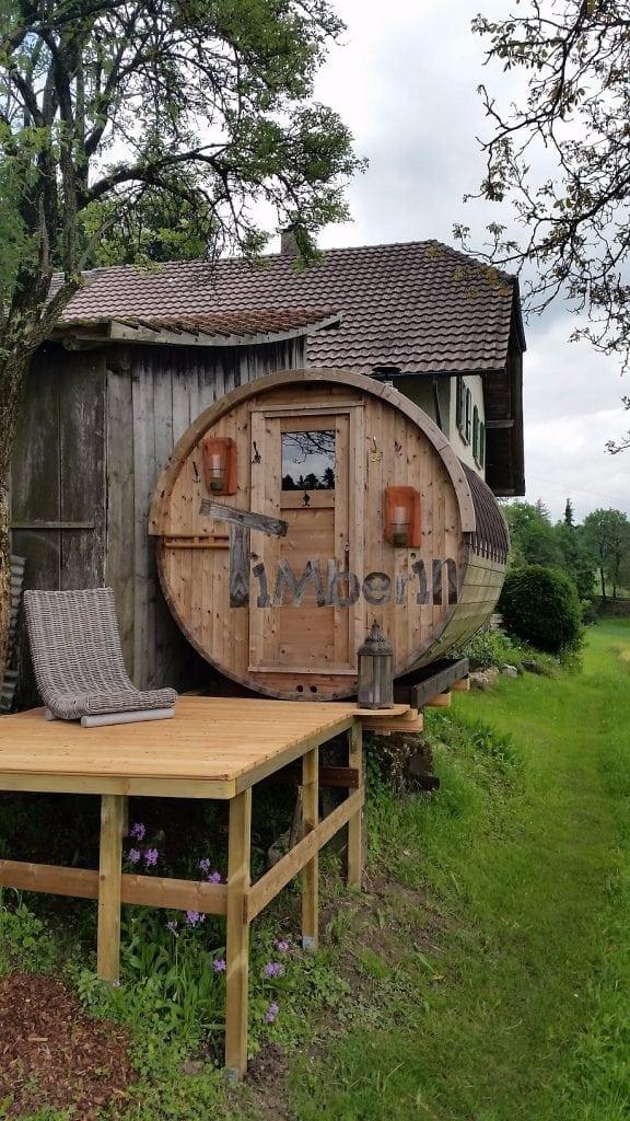 Gartensauna-Rund-Alain-Dupont-Obersteckholz-Switzerland Empfehlungen