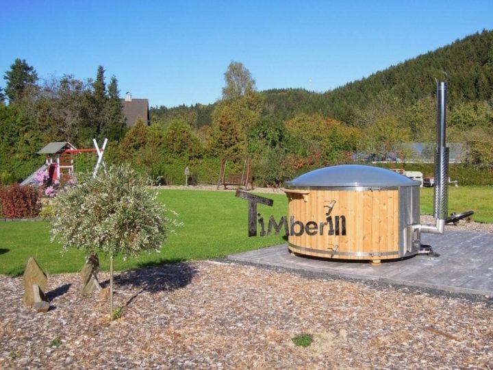 Badefass Gfk Thermoholz Mit Integriertem Ofen Wellness Royal, Mirko, Bad Berleburg, Deutschland (1)