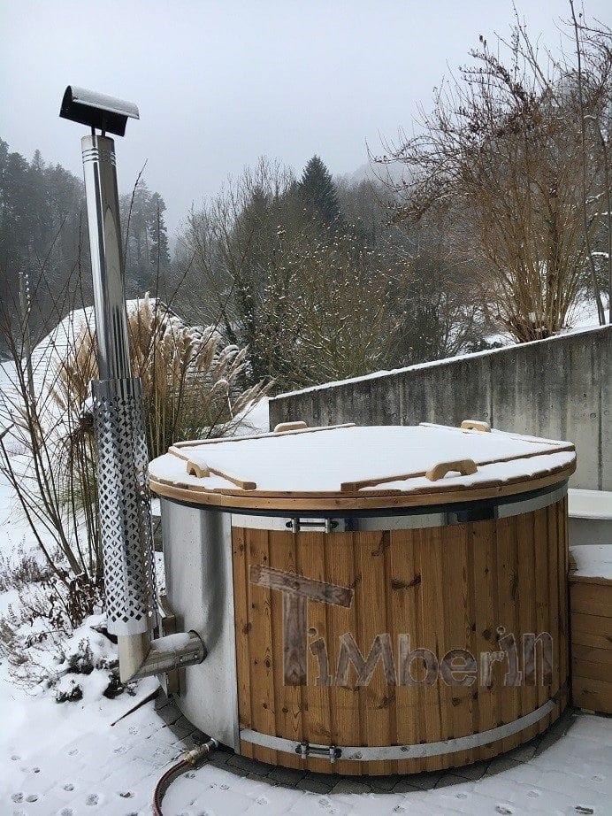 Aussenwhirlpool Mit Integriertem Ofen, Wellness Royal, Heiko, Aetingen, Schweiz (5)
