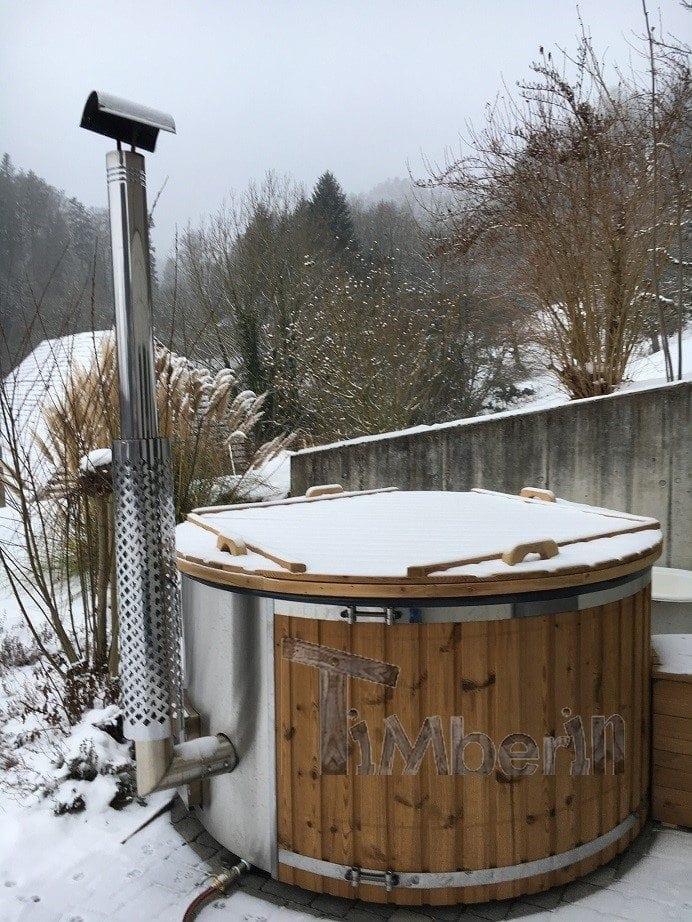Aussenwhirlpool Mit Integriertem Ofen, Wellness Royal, Heiko, Aetingen, Schweiz (6)