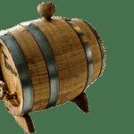 Ein Holzfass Für Wein, Bier Oder Schnaps (1)