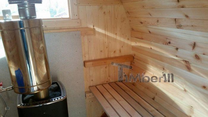 fasssauna 3m fichte mit holzofen und vorraum peter euskirchen deutschland. Black Bedroom Furniture Sets. Home Design Ideas