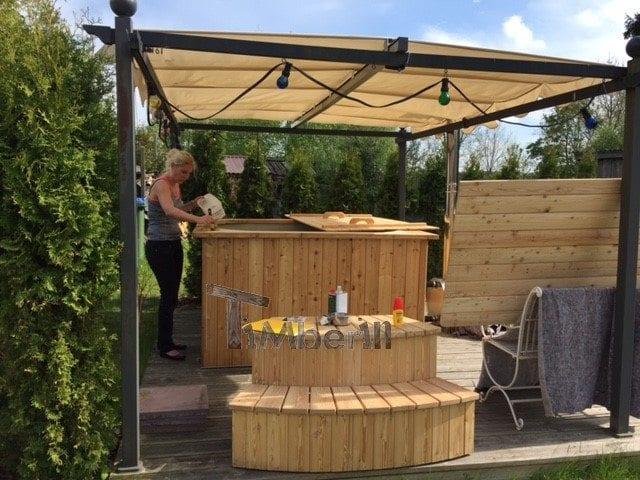 Badetonne Eckig Micro Pool Für 16 Personen! Party Tub, Josef, Gneven, Deutschland (1)