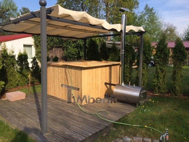 Badetonne Eckig Micro Pool Für 16 Personen! Party Tub, Josef, Gneven, Deutschland (3)