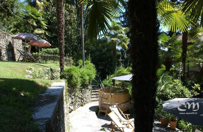 Holzbadetonne Günstig Basic Modell, Bianca, Oggebbio VB, Italia (4)