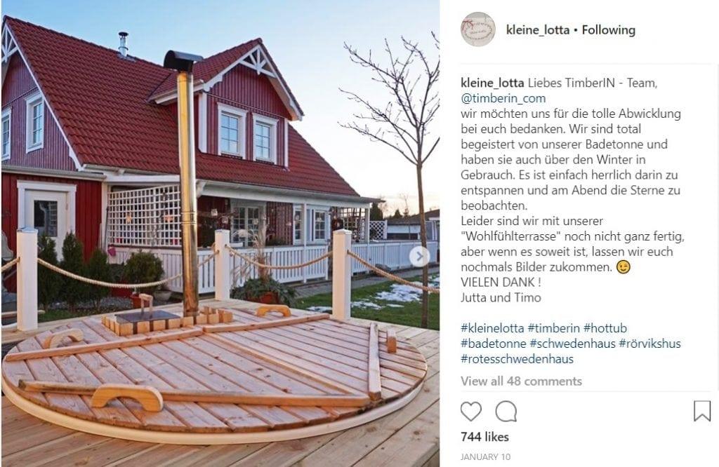 Kleinekotta-Badetonne-Einbau Home