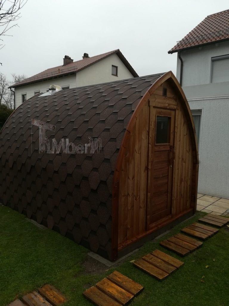 Außensauna-für-Garten-Iglu-Design-Sigrid-Klemens-Erding-Deutschland Bewertungen - Erfahrung TimberIN