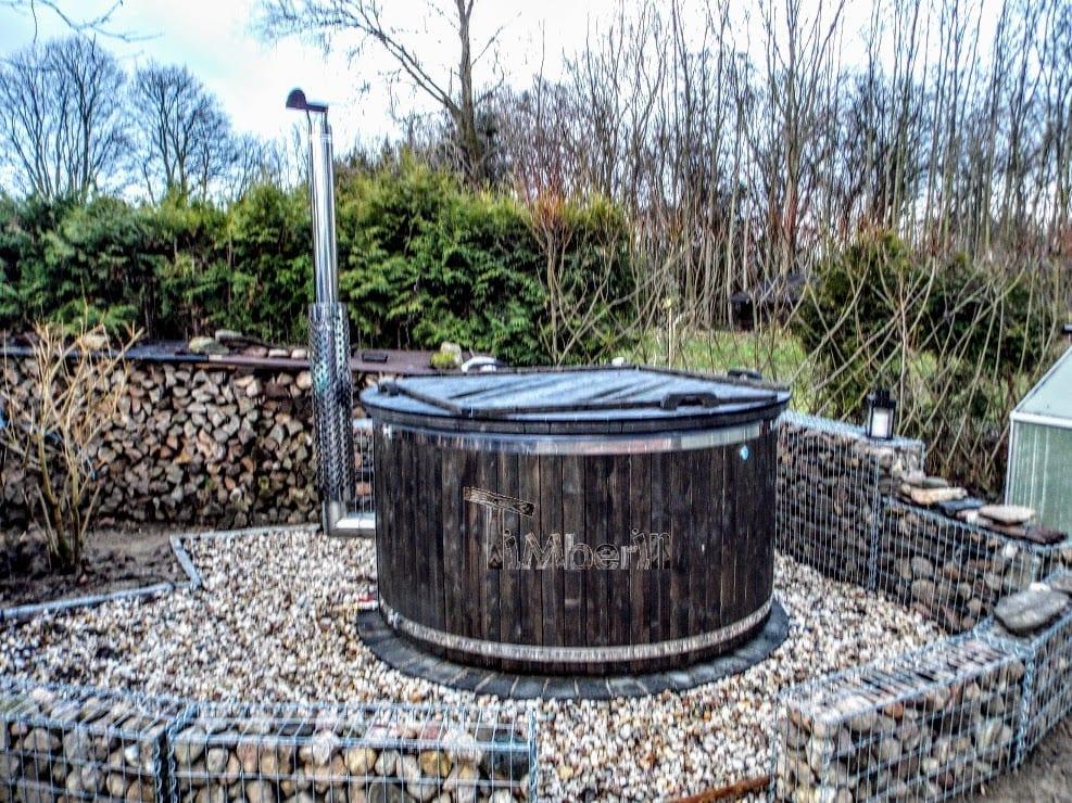 Badezuber-GFK-Wellness-Royal-mit-Holzfärbung-Corinna-Prötzel-Deutschland-2 Bewertungen - Erfahrung TimberIN