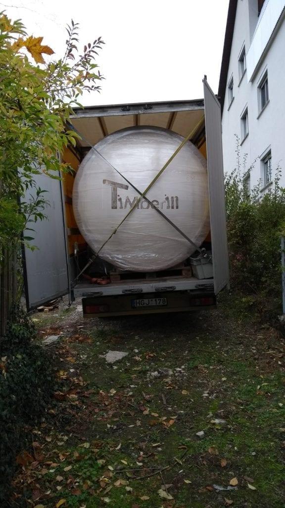 Badefass Gfk Thermoholz Mit Integriertem Ofen Wellness Royal, Heiko, Gerbrunn, Deutschland (1)