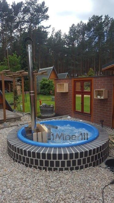 Badetonne-Fiberglas-Terrasse-Einbaumodell-Classic-Modell-Simone-Spremberg-Deutschland-4 Bewertungen - Erfahrung TimberIN