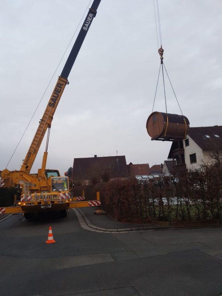 Fasssauna MitHolzofen Oder Mit Elektrischer Heizung HARVIA, Dagmar, Poxdorf, Deutschland (1)