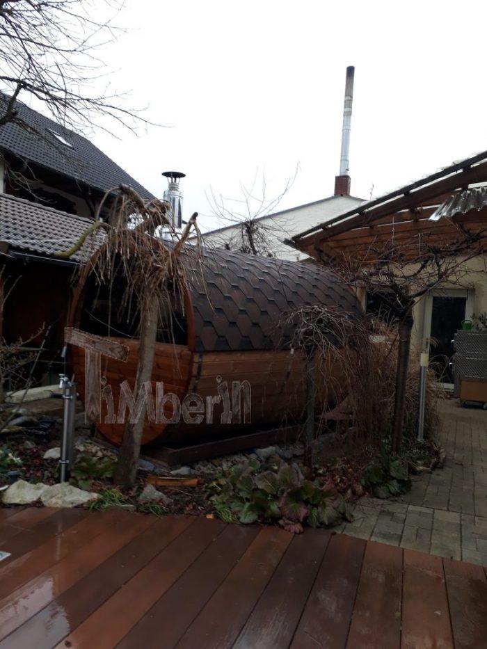 Fasssauna MitHolzofen Oder Mit Elektrischer Heizung HARVIA, Dagmar, Poxdorf, Deutschland (2)