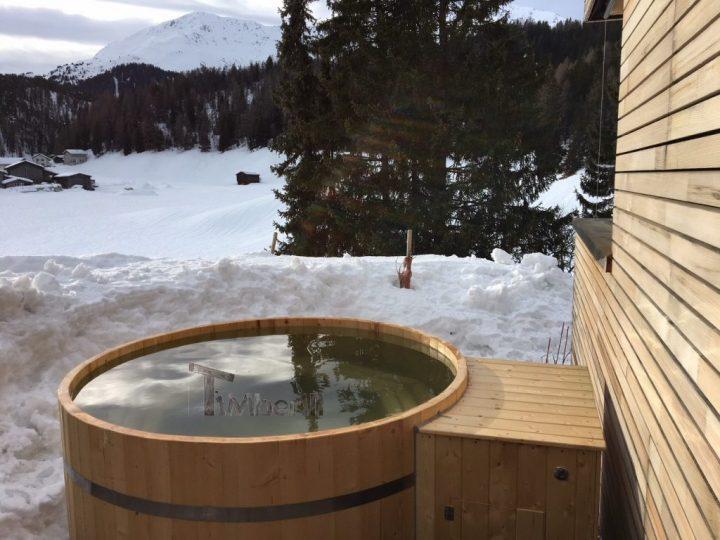 Holzbadetonne [Basic Design], Benjamin, Davos Wolfgang, Schweiz (1)