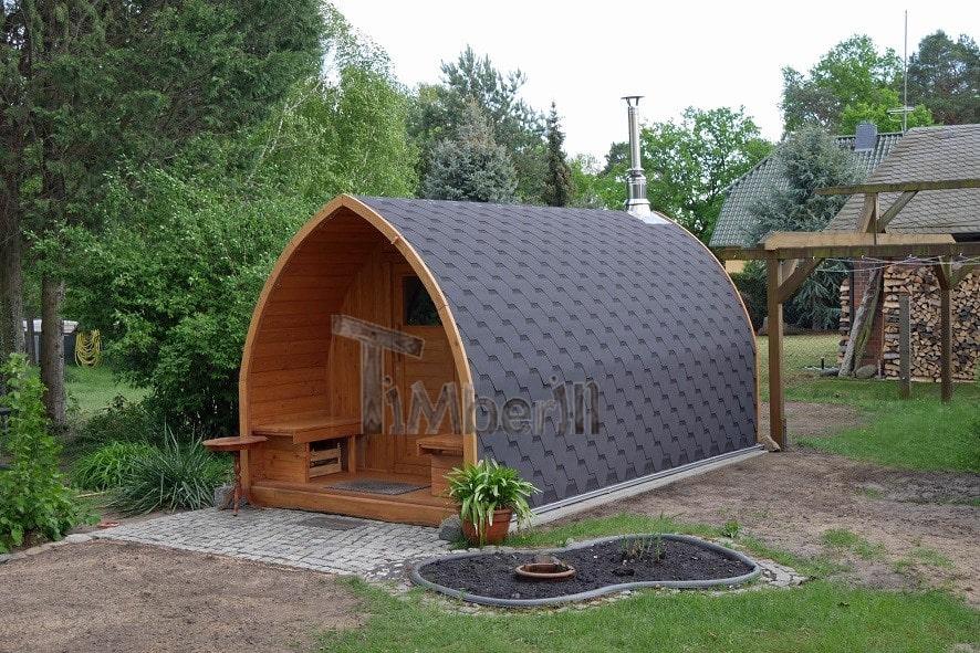 Außensauna-für-Garten-Iglu-Design-Gunnar-Potsdam-Mittelmark-Deutschland-22 Bewertungen - Erfahrung TimberIN