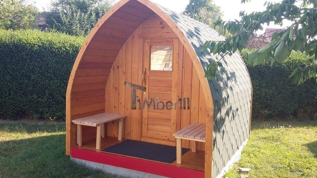Außensauna-für-Garten-Iglu-Design-Klaus-Schefflenz-Deutschland-2 Bewertungen - Erfahrung TimberIN