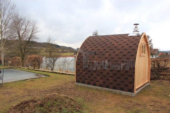 Außensauna Für Garten Iglu Design, Thomas, Herbstein Rixfeld, Deutschland (7)