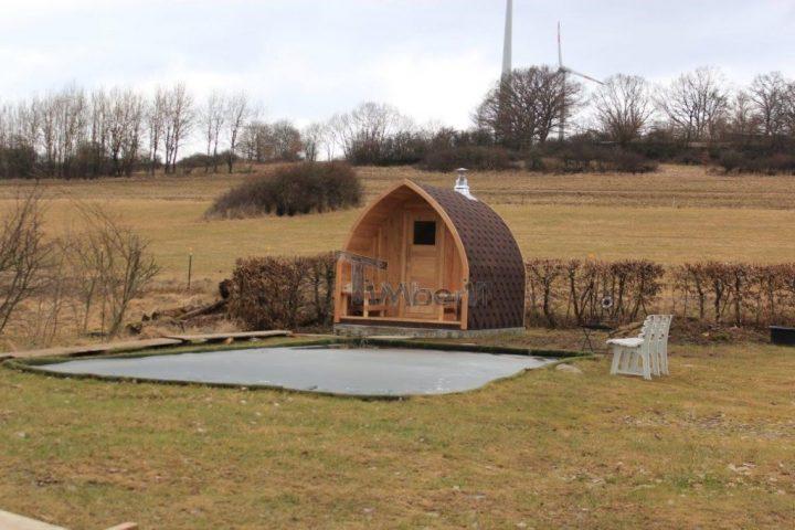 Außensauna Für Garten Iglu Design, Thomas, Herbstein Rixfeld, Deutschland (8)