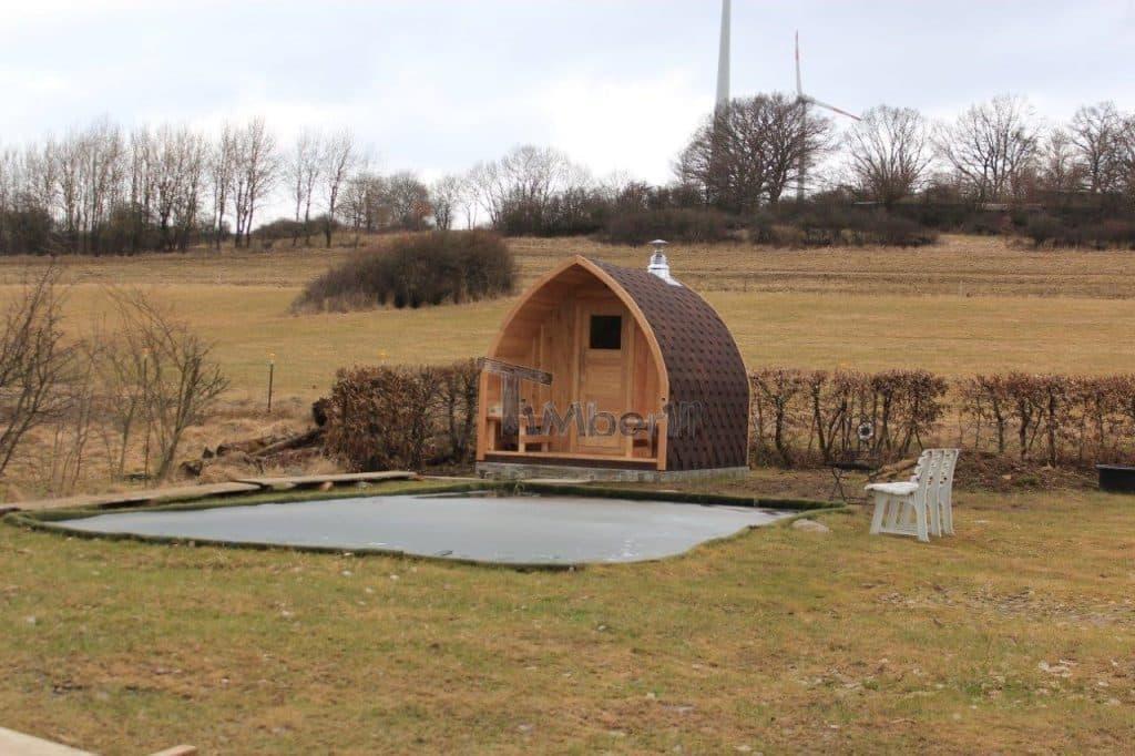 Außensauna-für-Garten-Iglu-Design-Thomas-Herbstein-Rixfeld-Deutschland-8 Bewertungen - Erfahrung TimberIN