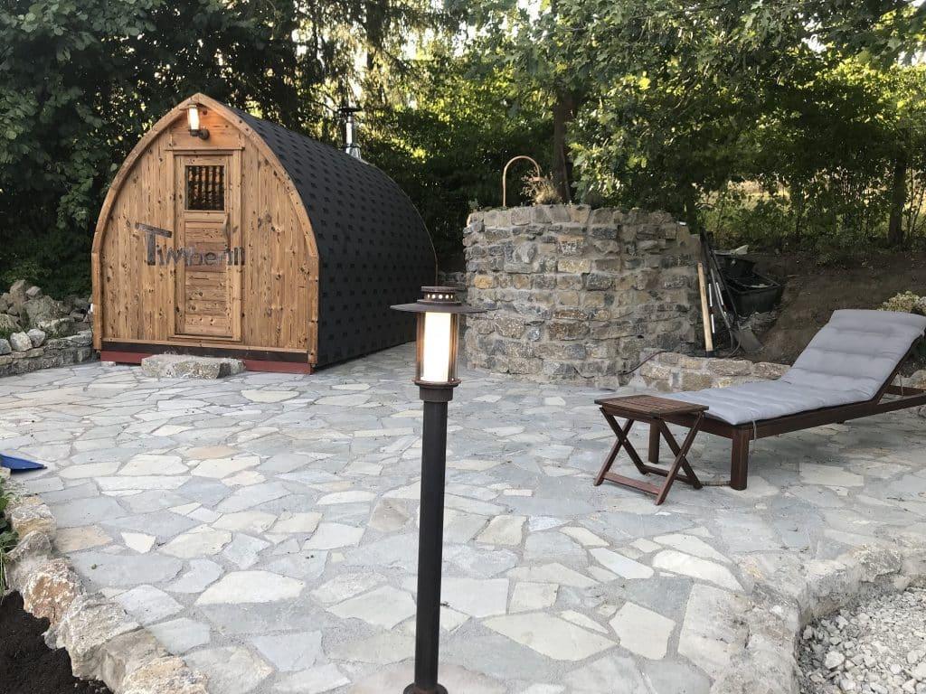 Außensauna-für-Garten-Iglu-Design-Thomas-Horn-Bad-Meinberg-Deutschland-1 Bewertungen - Erfahrung TimberIN