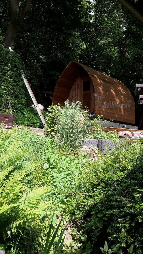 Außensauna-für-Garten-Iglu-Design-Ulrich-Wuppertal-Deutschland-1 Bewertungen - Erfahrung TimberIN