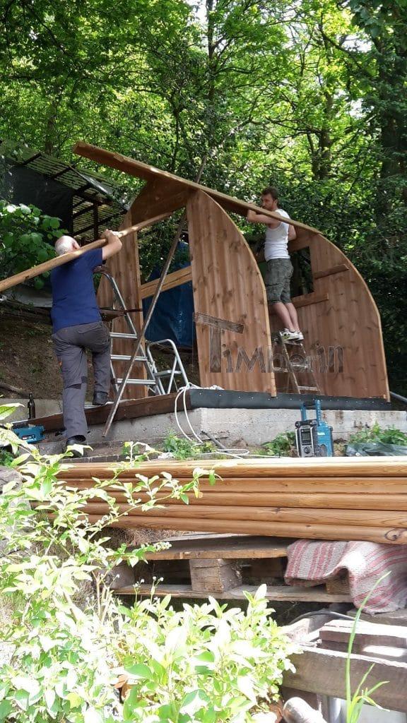 Außensauna-für-Garten-Iglu-Design-Ulrich-Wuppertal-Deutschland-5 Außensauna für Garten Iglu Design, Ulrich, Wuppertal, Deutschland