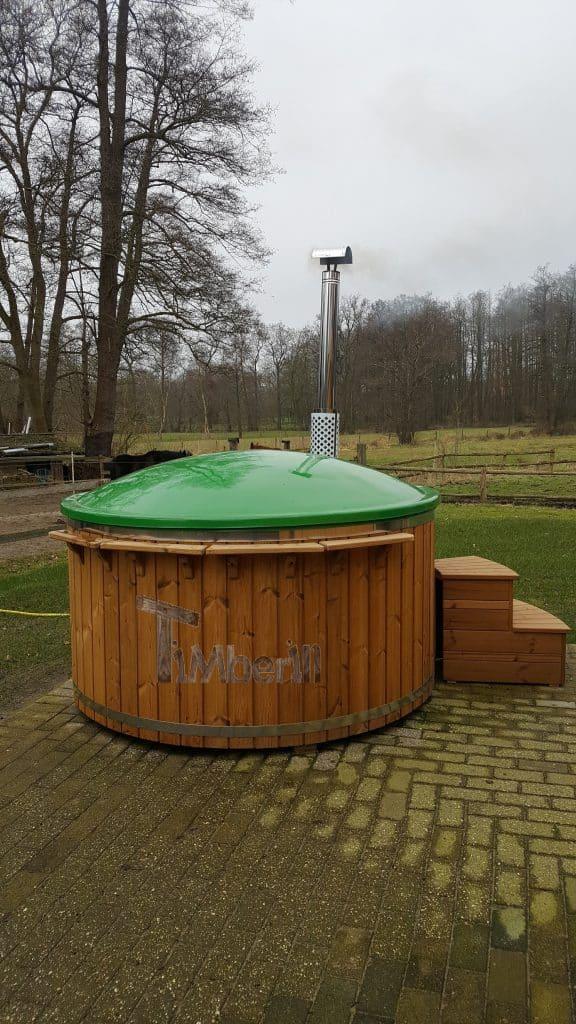 Badefass-Fiberglas-Wellness-Royal-Lebendige-Farben-Bernd-Schwanewede-Deutschland-1 Bewertungen - Erfahrung TimberIN